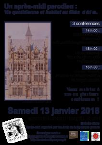 Conférences organisées par les Amis de la basilique romane de Paray-le-Monial 13 janvier 2018