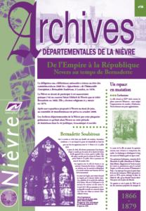 Archives départementales de la Nièvre [Lettre]