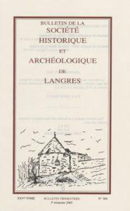 Bulletin de la Société historique et archéologique de Langres