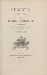 Bulletin d'histoire et d'archéologie religieuses du Diocèse de Dijon