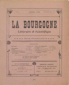 La Bourgogne littéraire & scientifique
