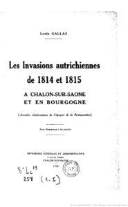 Les Annales chalonnaises et bourguignonnes. Recueil bi-mensuel d'articles et de documents d'histoire locale