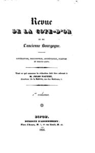 Revue de la Côte-d'Or et de l'ancienne Bourgogne
