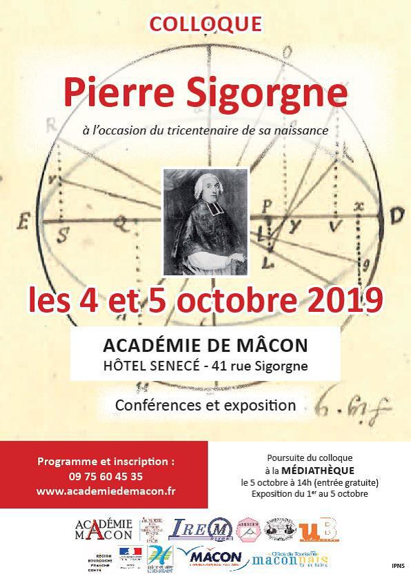 Colloque Pierre Sigorgne
