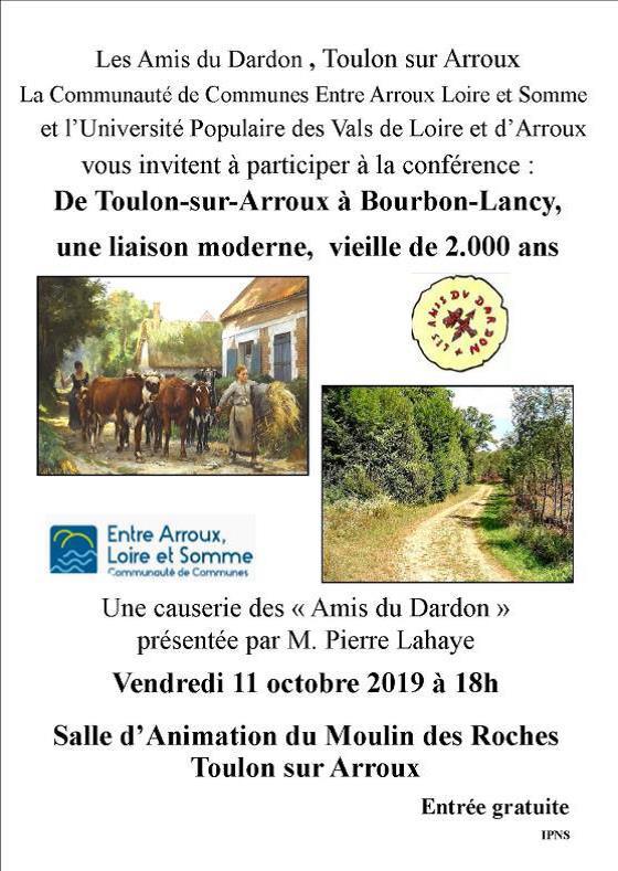 De Toulon-sur-Arroux à Bourbon-Lancy. Une liaison moderne, vieille de 2000 ans