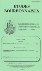 Etudes bourbonnaises n° 349