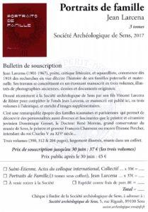 Société archéologique de Sens Portraits de famille