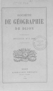 Bulletin - Société de géographie de Dijon