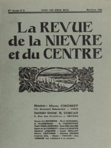 La Revue de la Nièvre et du Centre