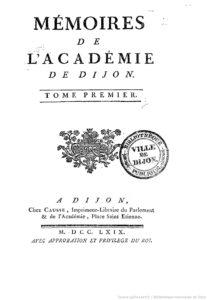 Mémoires de l'Académie de Dijon