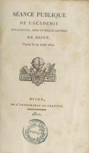 Séance publique de l'Académie des sciences, arts et belles-lettres de Dijon